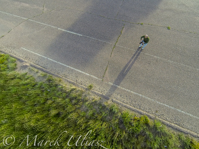 Aerial view from the Phantom 2 drone