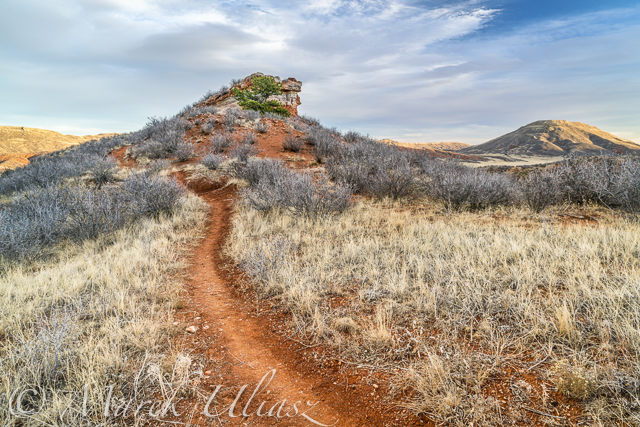 Red Mountain Open Space trail